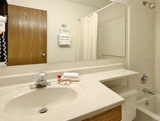 Super 8 Zanesville: Bathroom