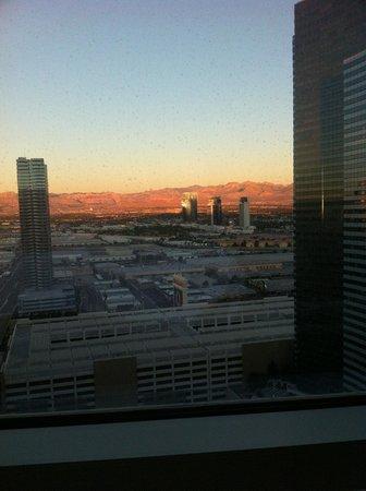 ARIA Resort & Casino: Vista nascer do sol