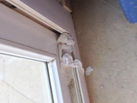 Saphir Palace & Spa : Balcony door