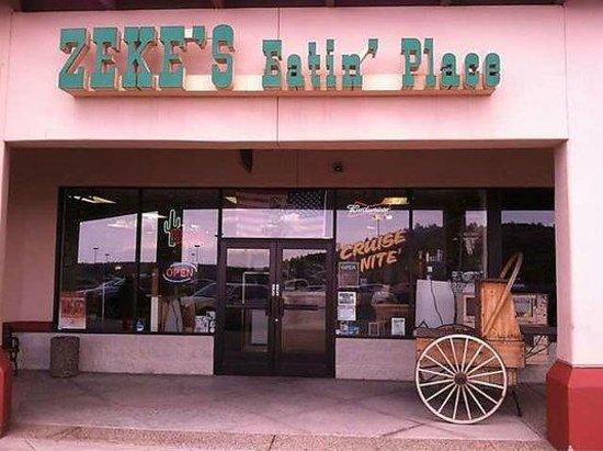 Best Food In Prescott Valley Review Of Zekes Eatin Place