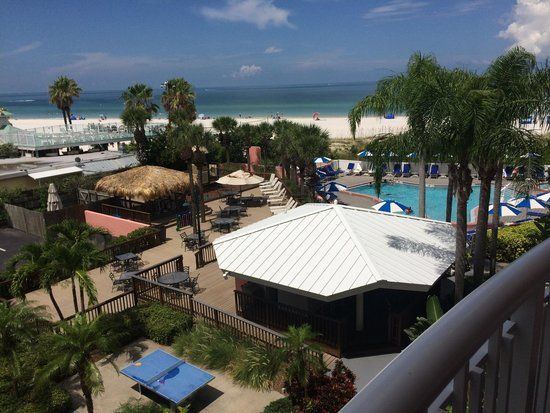 Beach House Suites by The Don CeSar: View from room