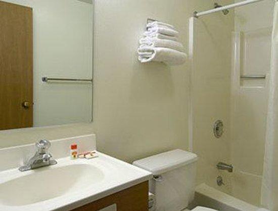 Super 8 Carson City: Bathroom