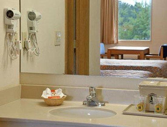Super 8 Brownsburg: Bathroom