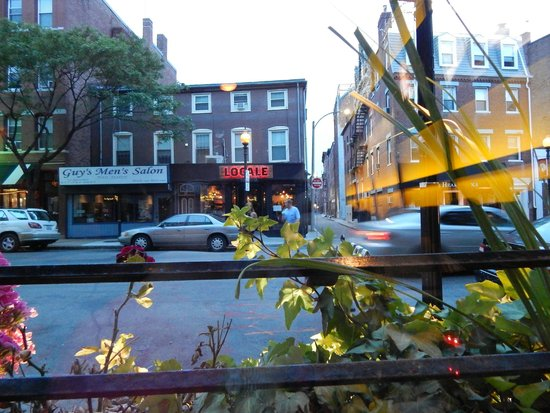 Strega : view from our table