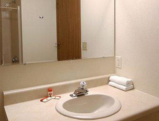 Super 8 Escanaba: Bathroom