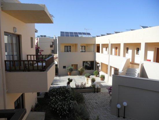 Indigo Mare: Utsikt fra balkong rom 416
