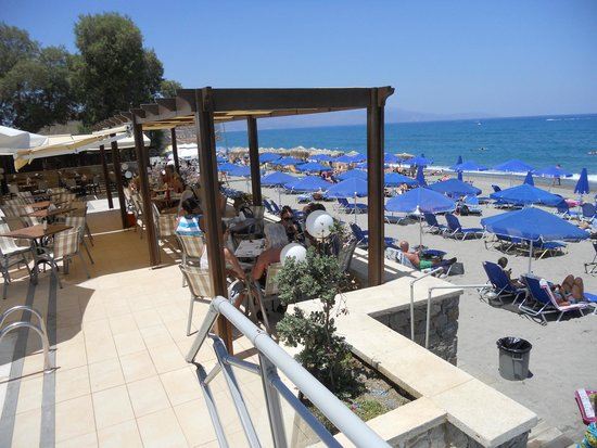 Indigo Mare: Poolrestaurant