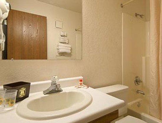 Super 8 Santa Rosa: Bathroom