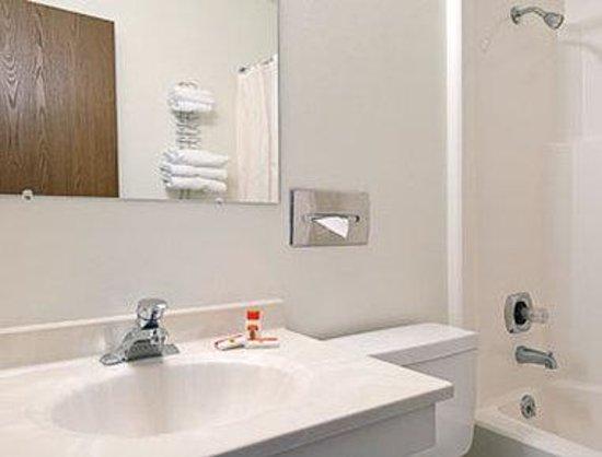 Super 8 Wisconsin Dells: Bathroom