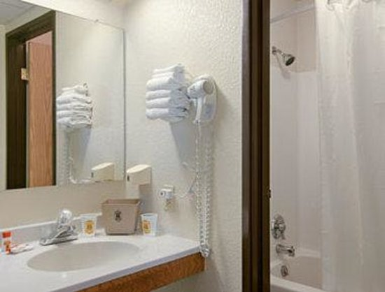 Super 8 Henderson North East Denver: Bathroom