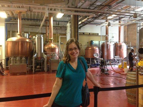 Samuel Adams Brewery : The brewing facilities!