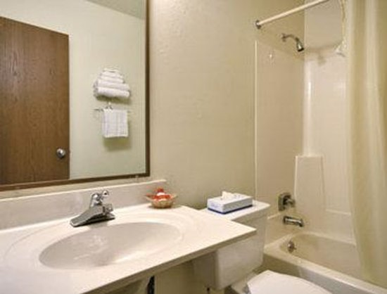 Super 8 Michigan City: Bathroom