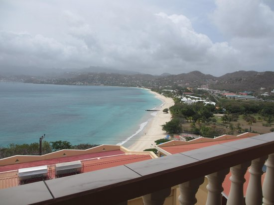 The Flamboyant Hotel & Villas: View from my room