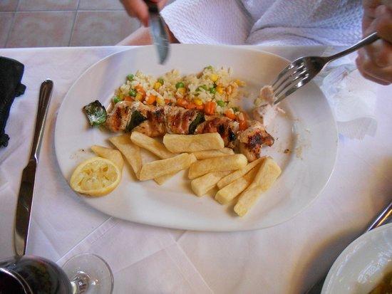 Restaurant Drosia: Kylling