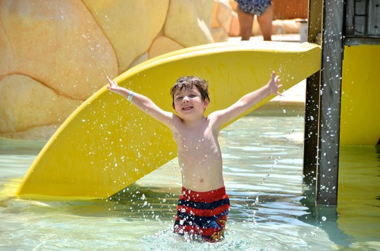 Sandos Caracol Eco Resort : Water park was a hit!