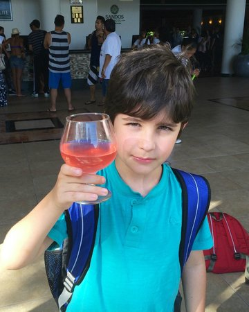 Sandos Caracol Eco Resort : Welcome drinks!