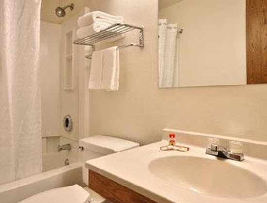 Super 8 Christiansburg/Blacksburg Area: Bathroom