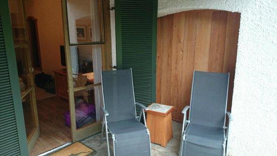 BEST WESTERN PLUS Berghotel Rehlegg: Terrasse