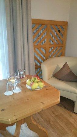BEST WESTERN PLUS Berghotel Rehlegg: immer frische Äpfel