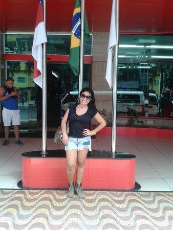 Amazonia Tower Hotel: Buena fachada, lobby impecable y comodo