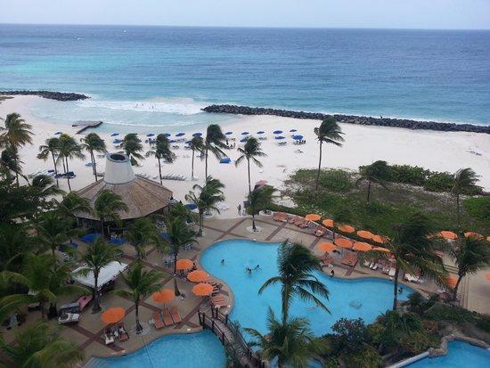 Hilton Barbados Resort: veiw from hotel room