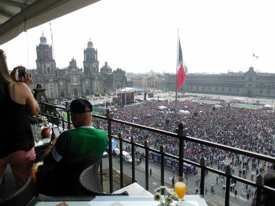 Gran Hotel Ciudad De Mexico Roof Top Terrace Restaraunt