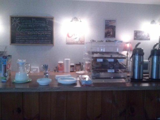 Roosevelt Inn: breakfast/desayuno