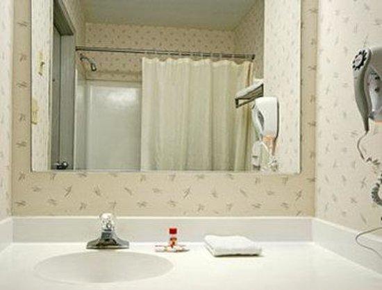 Super 8 Hancock MD : Bathroom