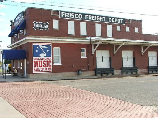 Muskogee, OK: Oklahoma Music Hall of Fame in the Frisco Railroad Freight Depot
