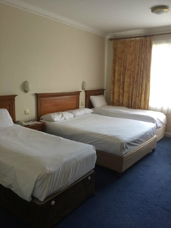 Rochestown Park Hotel: Compare this to the hotel's website room photos