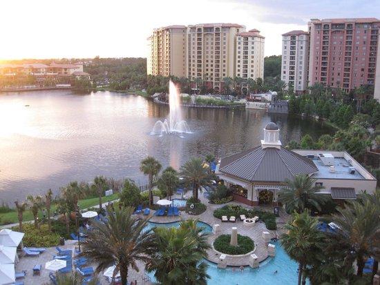 Wyndham Grand Orlando Resort Bonnet Creek: View from room
