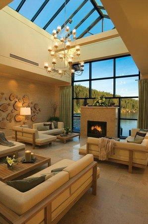 The Coeur d'Alene Resort: Spa Room