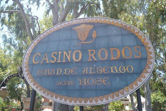 Casino Rodos : У входа на территорию