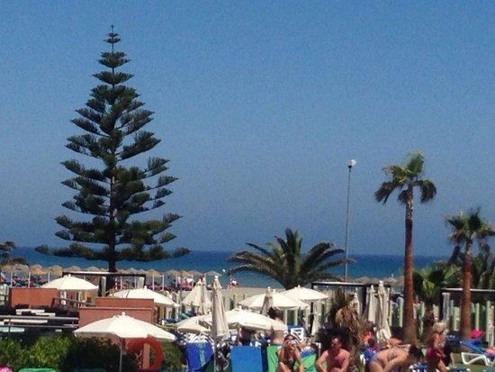 Protur Roquetas Hotel & Spa: Balcony view