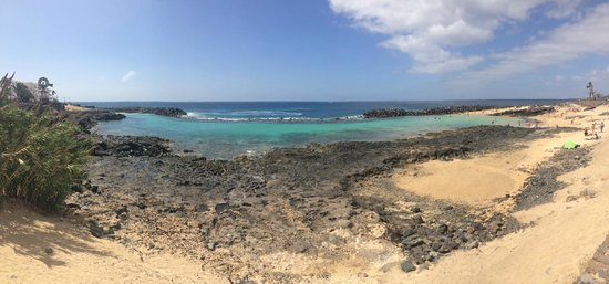 Be Live Experience Lanzarote Beach: Clear Blue Sea