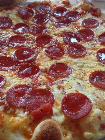 Langsurer Mühle: Pizza