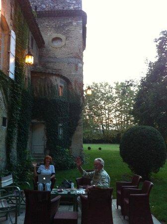 Château Beaupré Deleuze : Sunset Apero