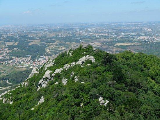 Castle of the Moors : Вид на замок мавров