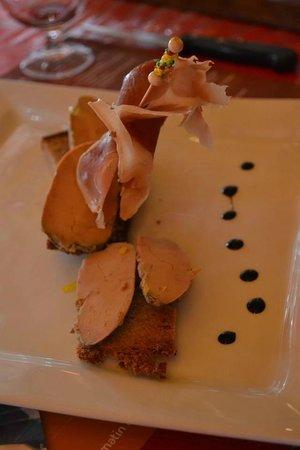 Le Boeuf d'Antan: Foie gras