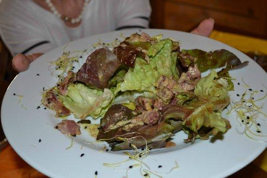 Le Boeuf d'Antan: Salade gesiers