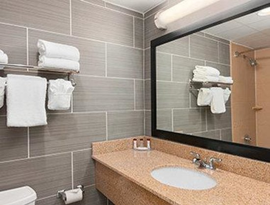 Ramada Rochelle Park Near Paramus: Bathroom