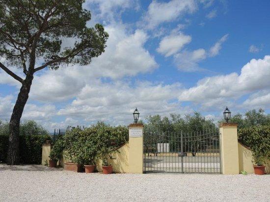 Agriturismo Il Belvedere: toegangshek Belvedere