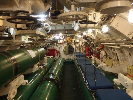 Forward Torpedo Room Picture Of C 189 Submarine Museum