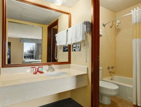 Ramada Louisville North: Bathroom