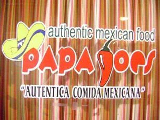 Papa Joe's Mexican Restaurant: Papa Joe's Front Window