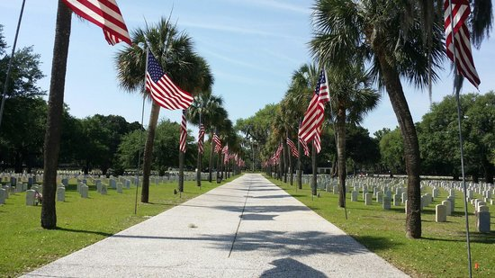 Beaufort National Cemetery: Serenity