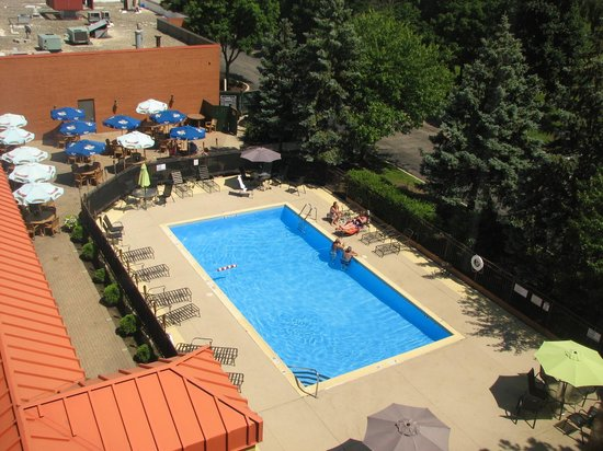 Holiday Inn Express Chicago - Schaumburg: Herrlicher Pool