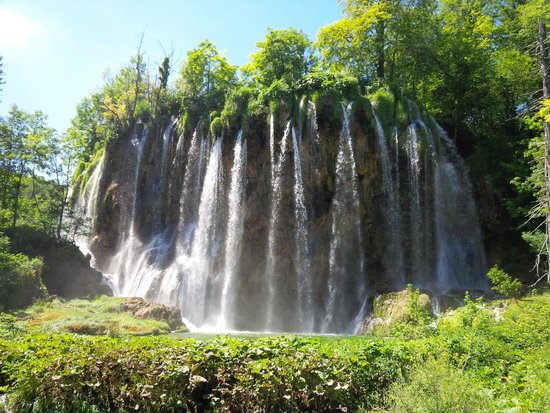 Plitvice Lakes National Park : Cascate