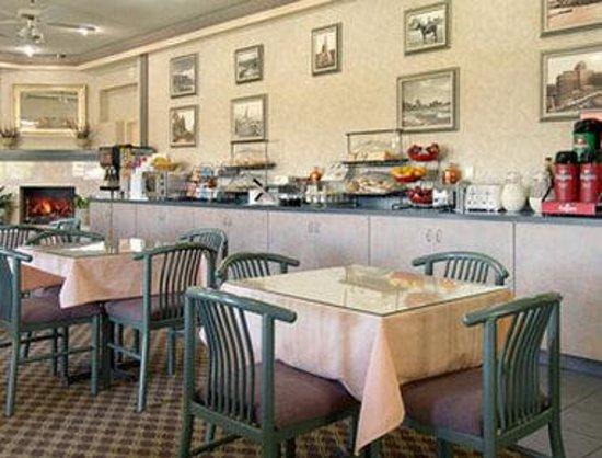 Ramada West Atlantic City: Breakfast Area