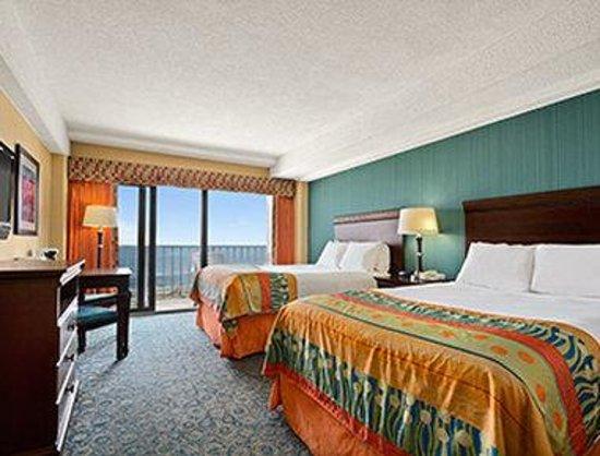 Ramada Virginia Beach Oceanfront: Standard Double Bed Room